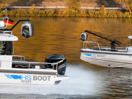 Live Broadcast Produktion auf dem Wasser – das Kameraboot